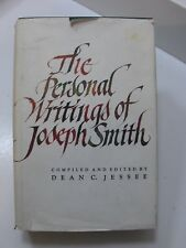 THE PERSONAL WRITINGS OF JOSEPH SMITH by Dean Jessee Mormon LDS