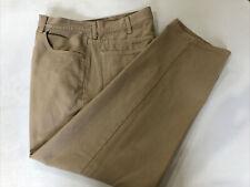 Calvin Klein Men's Beige Cotton Casual Pants 37X30 $78