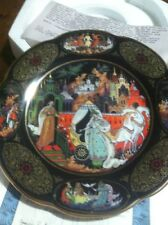 a golden age of russian ledgends loves promise plate by nicolai lopatin