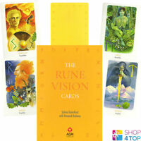 RUNE VISION CARDS DECK ORACLE SYLVIA GAINSFORD HOWARD RODWAY ESOTERIC AGM NEW