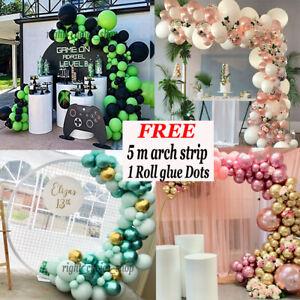Balloon Arch Garland Kit Happy Birthday Party Wedding Baby Shower Hen Decor UK