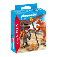 Playmobil Caveman With Sabertooth Tiger Building Set 9442 NEW IN STOCK
