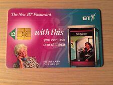 BT Phonecard, £5 value, Used
