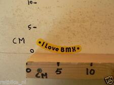 STICKER,DECAL BMX I LOVE BMX