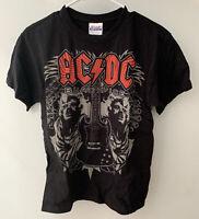 ACDC Vintage Black Ice Concert Tour T Shirt Hanes Men's Size MEDIUM NEVER WORN