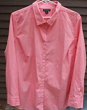 Women's Orange & White Shirt by George; Size:  XXL (20)