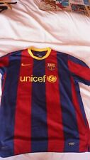 Maillot Football NIKE INIESTA 8 BARCELONE taille XL 2009 2010
