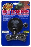 BETTA THERM Mini Size Betta Bowl Heater Up To 3 Gallons
