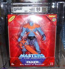 MOTU, Faker, AFA 90, graded, He-Man 200x, Toyfare Exclusive, MISB, UNCIRCULATED