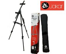 Jakar Watercolour Aluminium Easel Adjustable Canvas Holder Height Up 120cm + Bag