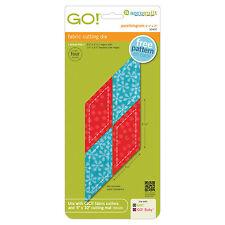 """AccuQuilt GO! & Baby  Parallelogram 45°-2 1/4"""" x 2 13/16"""" Sides Die 55402 Quilt"""