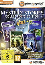 Mystery stories-Collector 's Edition (pc, 2012, DVD) article neuf
