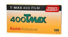 5 Rolls Kodak TMY 120 TMax 400 B&W Print Film ISO400 FRESH DATED