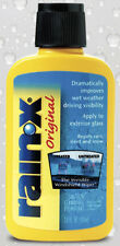 Rain-X windscreen rain repellent (RainX repellant)