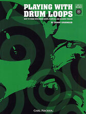 Playing With Drum Loops Drums Book Donny Gruendler NEW