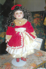 Westcora Home  ANGELINA COLLECTIBLE PORCELAIN DOLL 2001