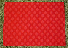 Dot Appeal ~ Red Holiday Christmas Tapestry Placemat