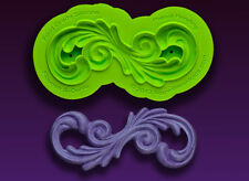 Flourish S-Curve Silicone Mold by Marvelous Molds #SM-06 Gum Paste Mold