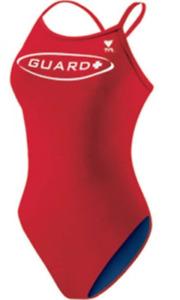 TYR LIFEGUARD Diamondback Swimsuit - Sz 40