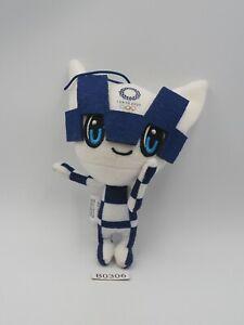 "Tokyo Japan B0306 Olympic 2020 Mascot Strap Plush 5"" Stuffed Toy Doll Japan"