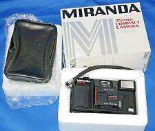 Miranda FM-X Compact 35mm Film Camera point & shoot with Case in Box FMX FM X