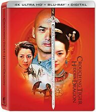 Crouching Tiger Hidden Dragon Steelbook (4K Ultra Hd/Blu-ray/Digital)