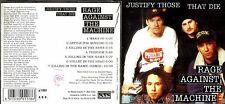 Rage Against The Machine cd album- Justify Those That Die