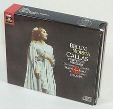 Bellini: Norma, Maria Callas/Filippeschi/Serafin, Mono 3-Disc CD Set, W. Germany