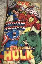 Marvel Comics Sleeping Bag Thor Iron-Man Captain America The Incredible Hulk