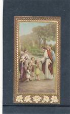 Heiligenbild Jesus mit Kinder, Holy-Card, Santino   (HB2)