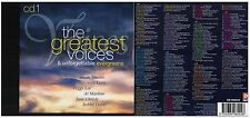 CD 10 - 1976 - CONFEZIONE COM THE GREATEST VOICES & UNFORGETTABLE EVERGREENS