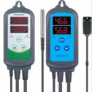 Inkbird Digital Thermostat Humidistat ITC-308 IHC-200 Humidity Temperature Relay