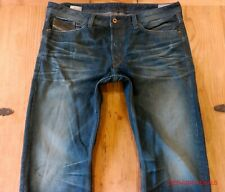 Mens DIESEL VIKER Regular Straight Leg Jeans 36W 32L 0880N SUPERB RRP £129