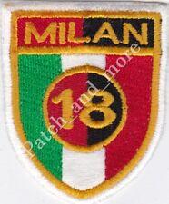 [Patch] A.C. MILAN 18° SCUDETTO CALCIO replica cm 5,3 x 6,5 toppa ricamo -1007