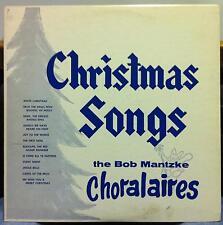 BOB MANTZKE CHORALAIRES christmas songs LP VG+ KB 2698 Private Press Mono