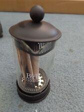 Bodum French Coffee Press Single Cup Clear Glass Black  B&B Cognac Liqueur NWT