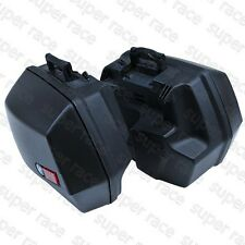 Black Side Cases Hard Bags Luggage Bags Lock for BMW R1100RT R1150RS R1150RT GS