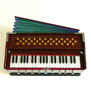 Indisch Stil Beste Harmonium 9 Stopper Chudidaar Bellow 42 Schlüssel Zwei Reed