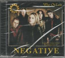 NEGATIVE - War of love - CD SIGILLATO NEW SEALED