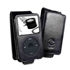 TUFF LUV Personalised Napa Leather Case Cover for iPod Classic 80GB 120GB -Black