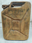 Fuel Canister Tin Container Box Military Army Germany 5 Gal, 20 L / 1943