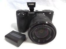 Sony Alpha A6500 24.2MP Digital Camera w/ 18-55mm Lens 📷 Bundle 📷
