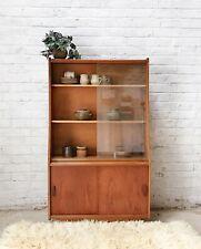 Mid-Century Glass Bookcase / Cabinet / Sideboard VINTAGE RETRO