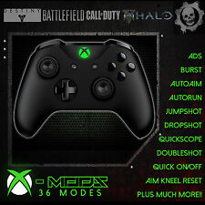 XBOX ONE S RAPID FIRE CONTROLLER - BEST MOD ON EBAY!! *BLACKOUT GREEN LED* - CoD