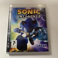 PS3 Game - Sonic Unleashed - Tested - Full Working Condition