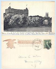 Hotel San Remo Central Park Lake New York City UDB 1905 Postcard Koehler #44