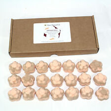 Bath Bombs Chocolate Orange scented 21 x 10g Flowers reduced plastic