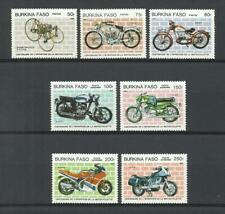 BURKINA FASO. Año: 1985. Tema: CENTº DE LA MOTOCICLETA.