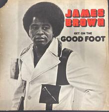 JAMES BROWN--ORIGINAL Vinyl LP 1972  DOUBLE ALBUM--Get On The Good Foot VG
