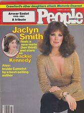 OCT 19 1981 PEOPLE magazine (UNREAD - NO LABEL) - JACLYN SMITH